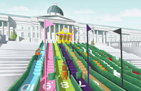 Kickstarter launched for Paul Smith-curated crazy golf course in Trafalgar Square
