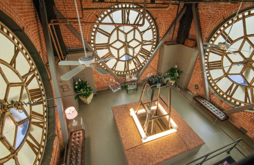 A clock tower penthouse in San Francisco goes on sale