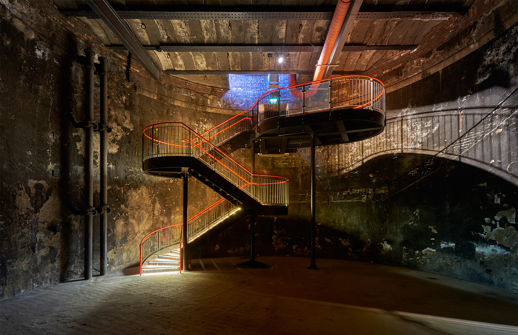 Thames Tunnel shaft theatre