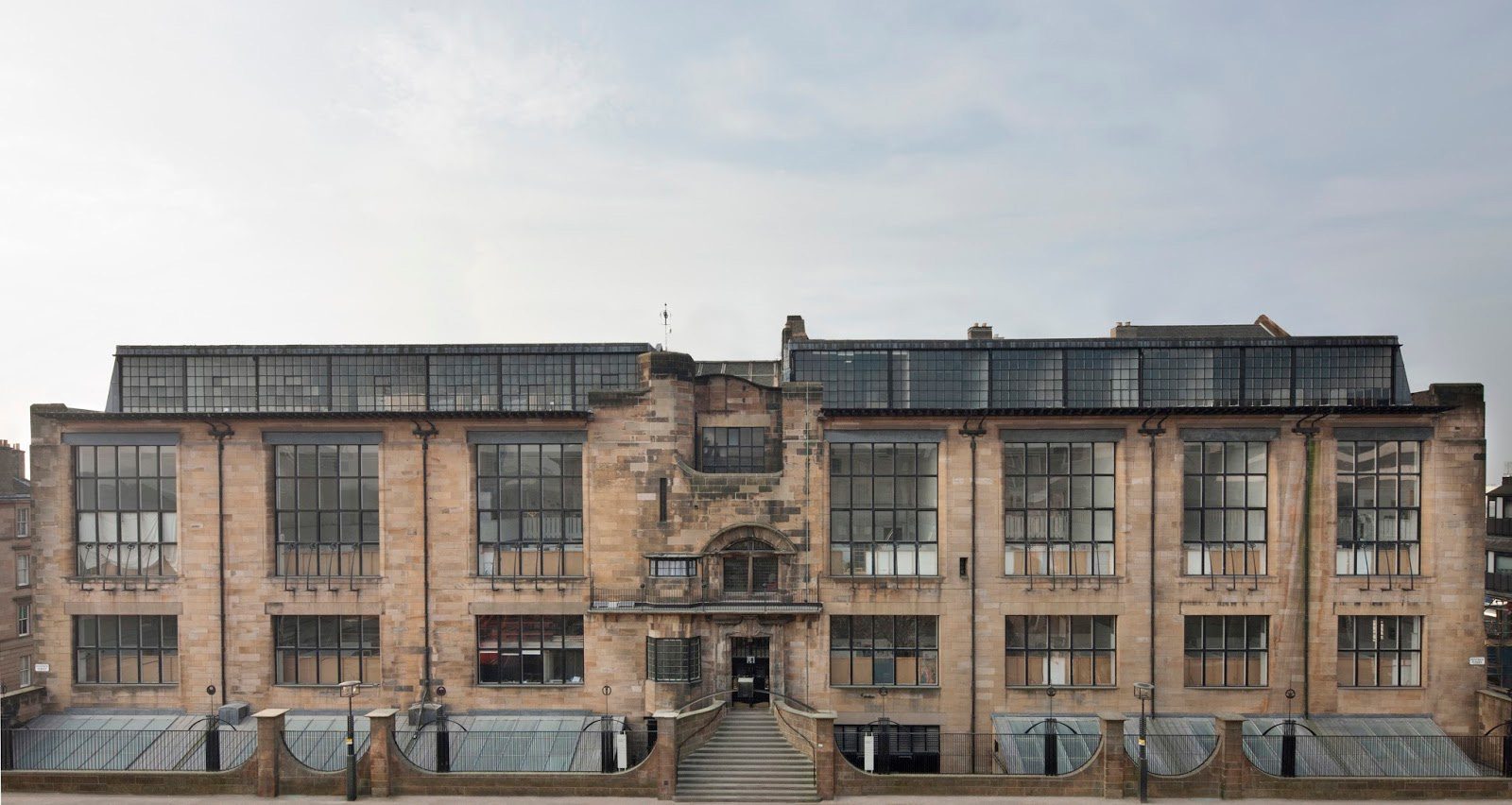 The Glasgow School of Art's Mackintosh Building as it was before the 2014 fire. Photography: Alan McAteer / Glasgow School of Art