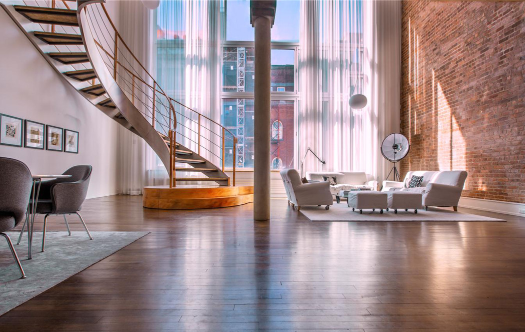 Look inside this voluminous 8m loft in tribeca nyc the for Tribeca loft for sale