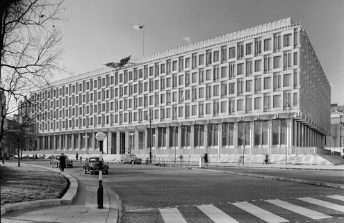 US embassy building in Grosvenor Square set to become a hotel