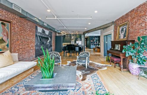 Singer Vanessa Carlton's Manhattan loft is available to rent