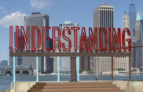 Martin Creed's 'Understanding' at Brooklyn Bridge Park