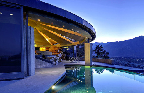 John Lautner's 'Diamonds Are Forever' home in Palm Springs goes on sale