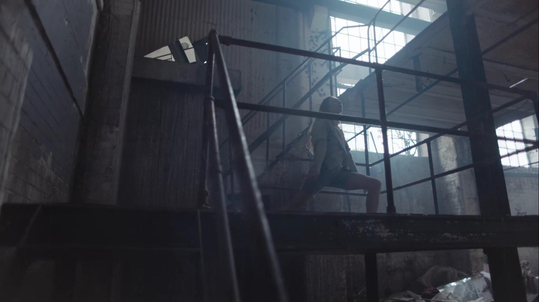 Metaxas' 'Selene', set in Chisenhale Veneers building