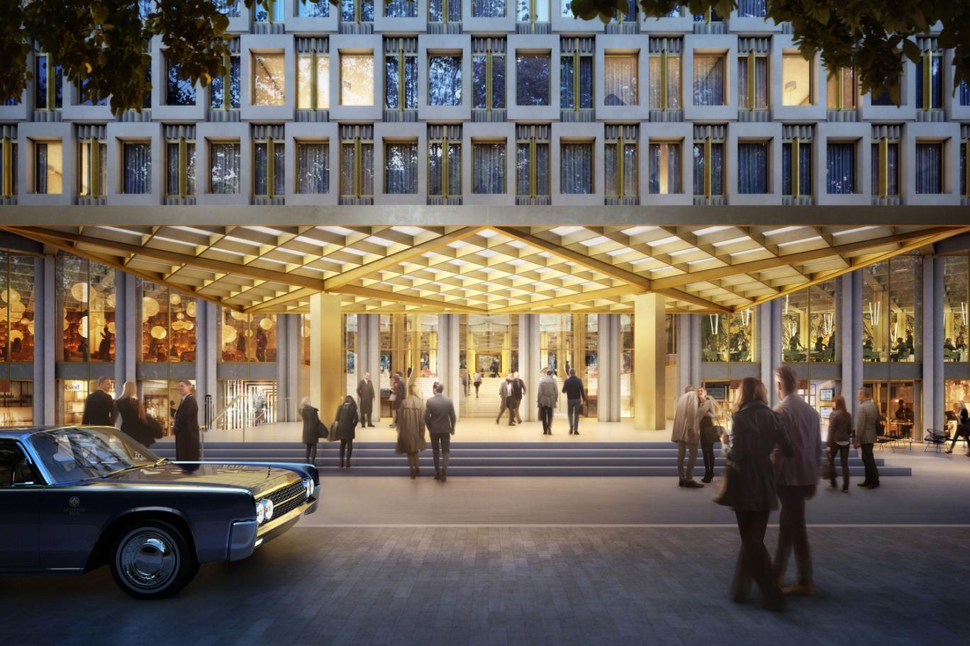 us embassy mayfair hotel foyer