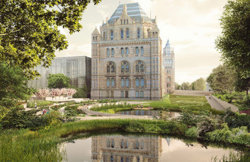 London's Natural History Museum wants to make the outdoors part of its collection