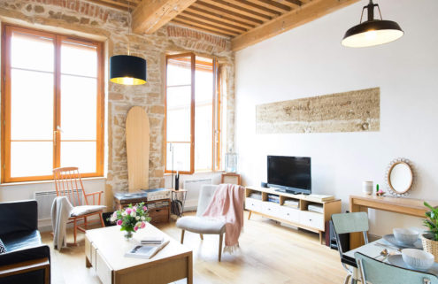 Buy a 'Francofornian' style apartment in Lyon
