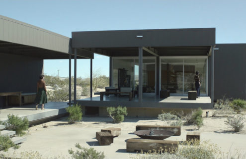 Canadian band Braids roams Marmol Radziner's Desert House in new music video