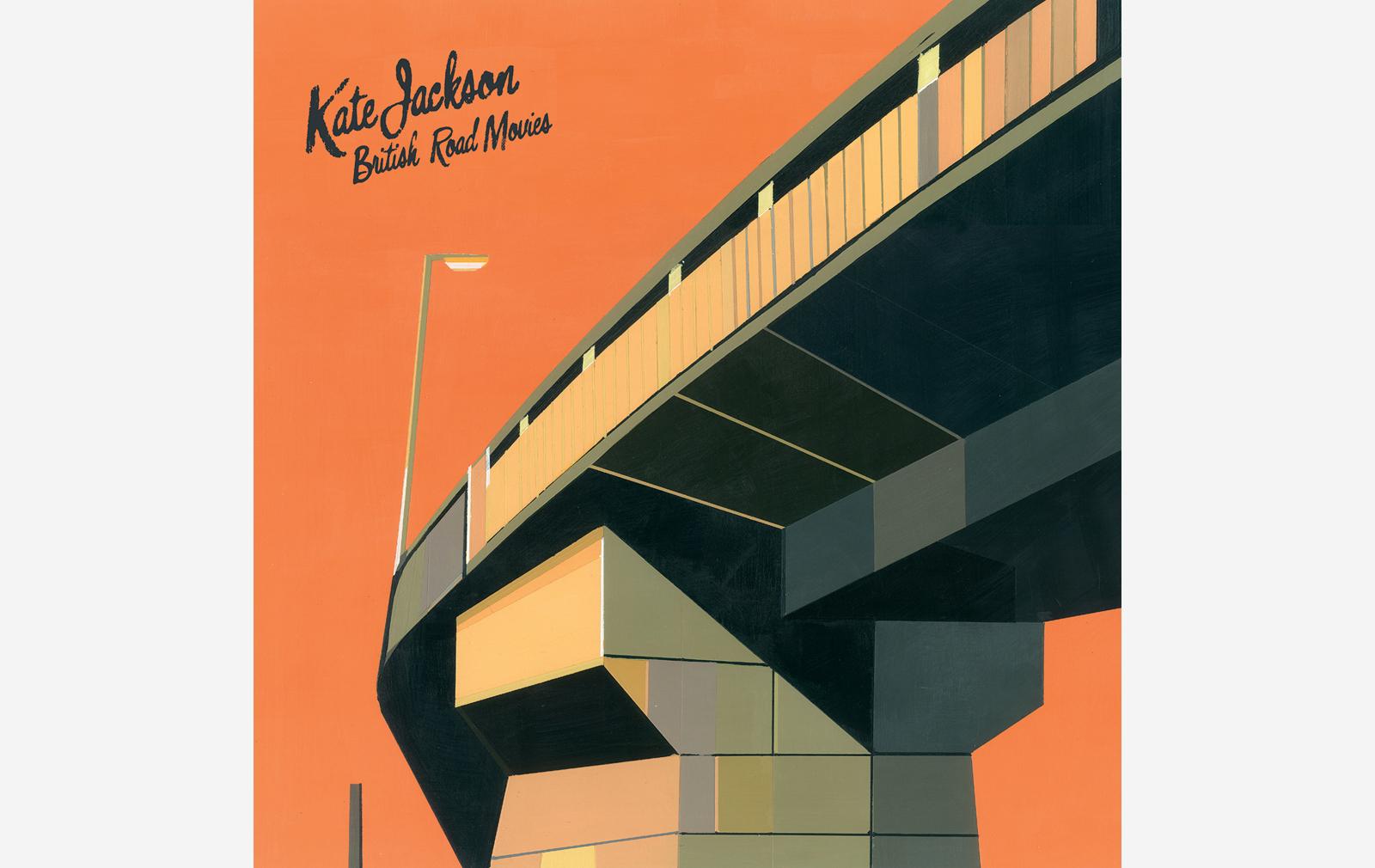 British Road Movies artwork by Kate Jackson