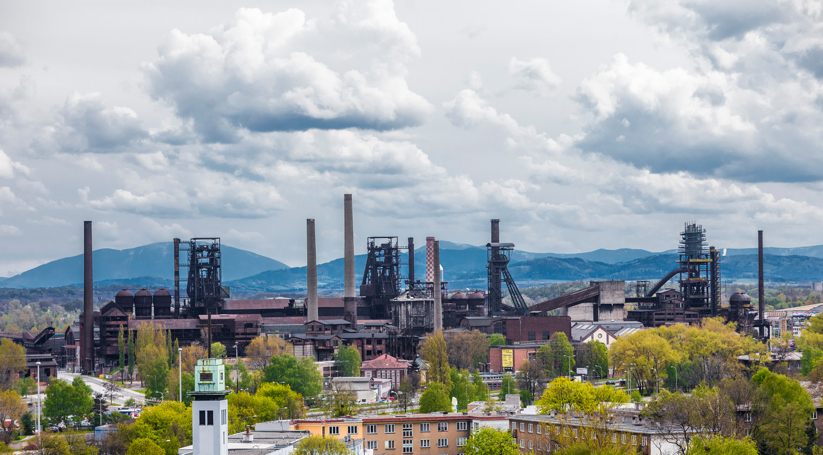 The Colours of Ostrava Festival industrial site