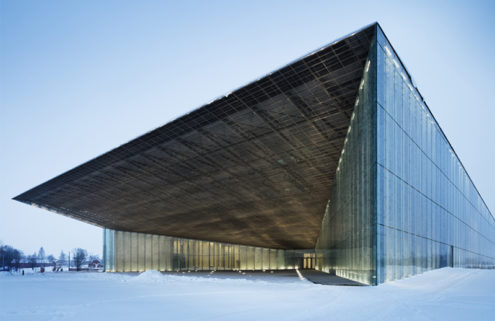 DGT Architects turn a disused military base into the Estonian National Museum
