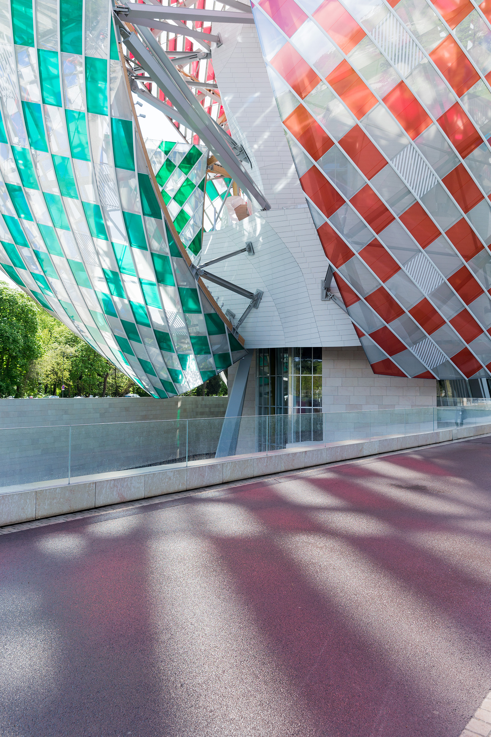 Fondation Louis Vuitton - Daniel Buren