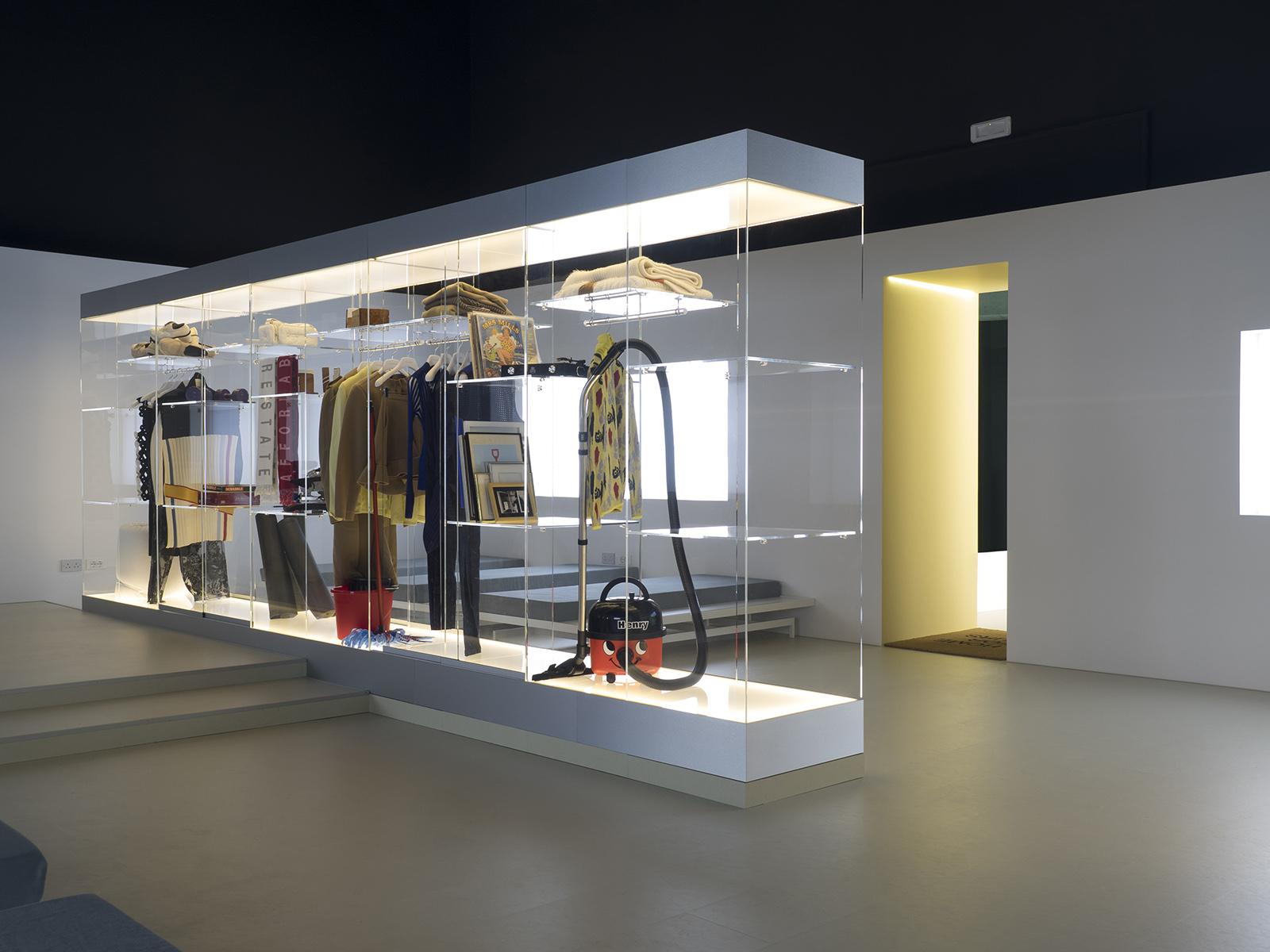 'Hours' room, <em>Home Economics</em> at the British Pavilion, Venice Architecture Biennale 2016 Photography: Cristiano Corte, courtesy British Council