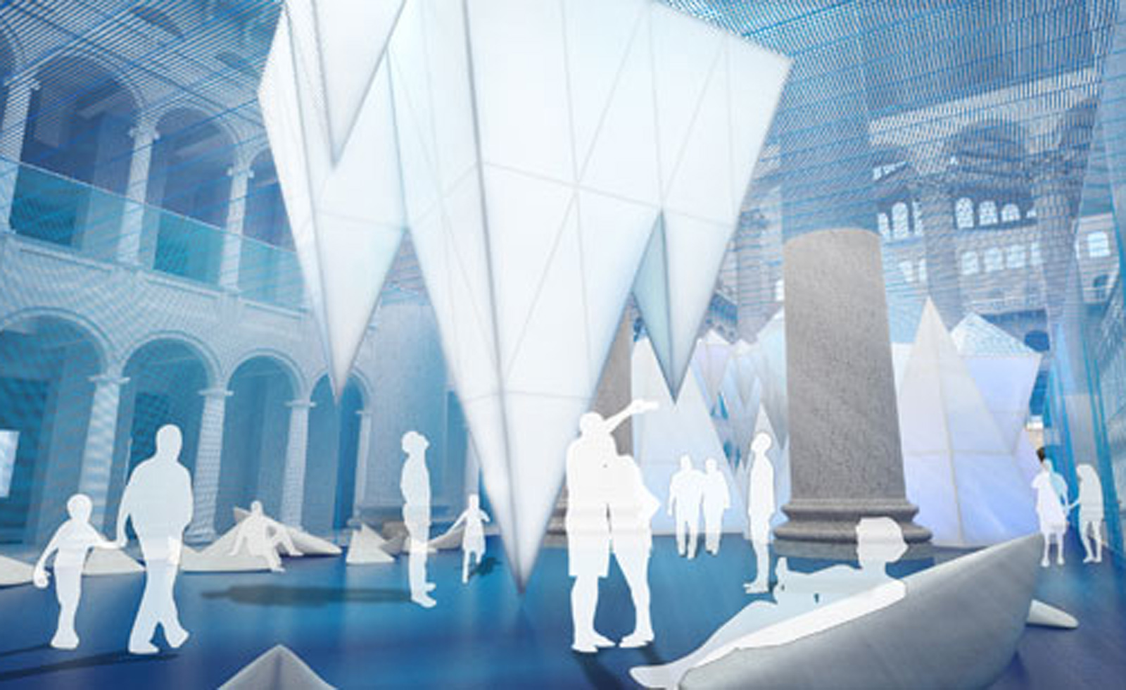 Renderings by James Corner Field Operations, courtesy National Building Museum.