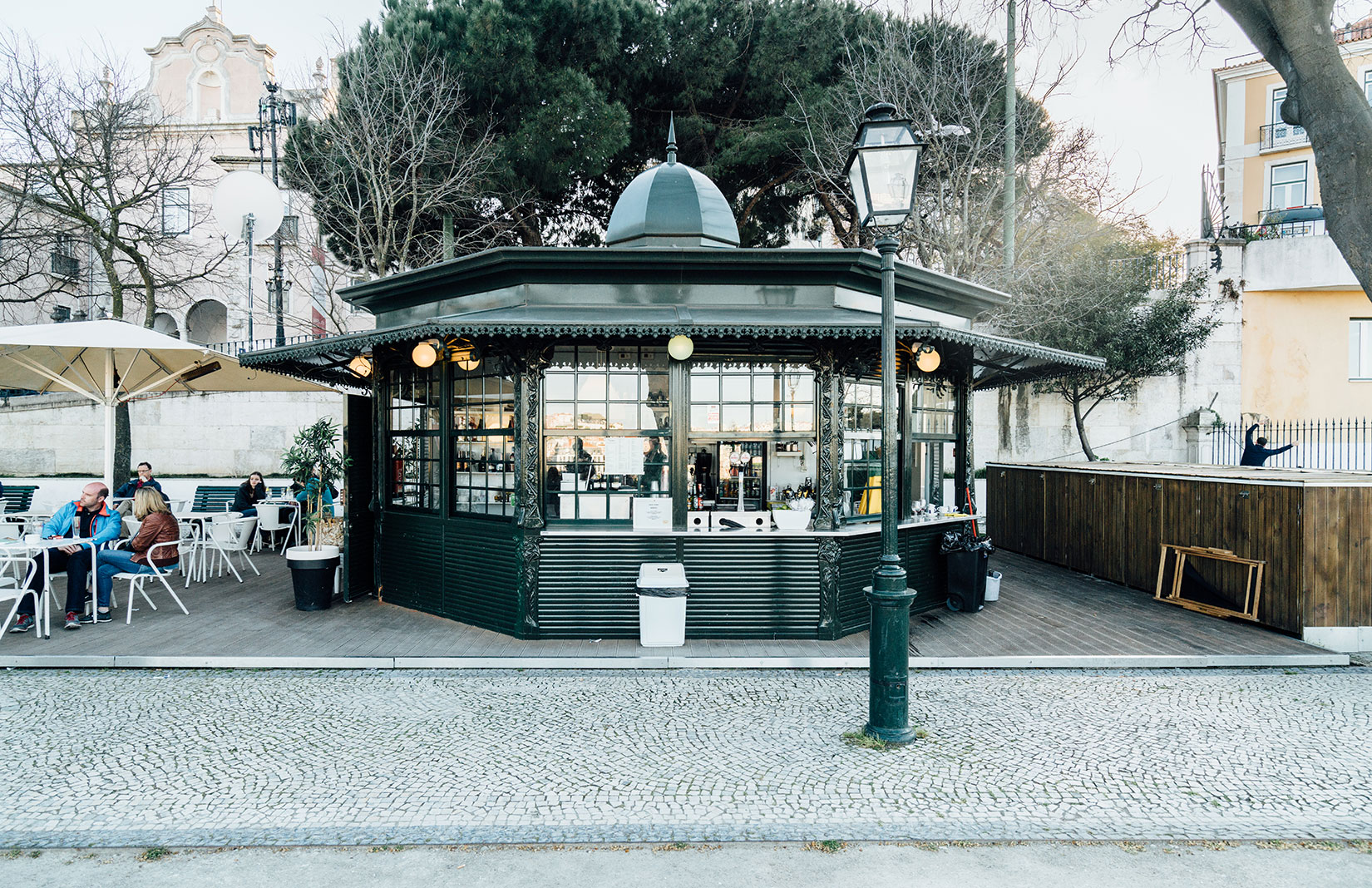 Lisbon kiosks