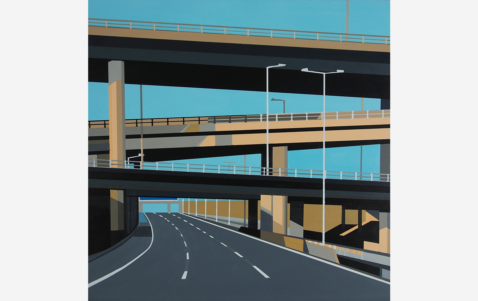 'M25' by Kate Jackson. Part of the series British Road Movies