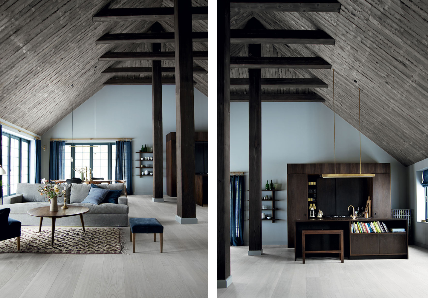 Homes we missed a furniture designers purple abode a Nordic