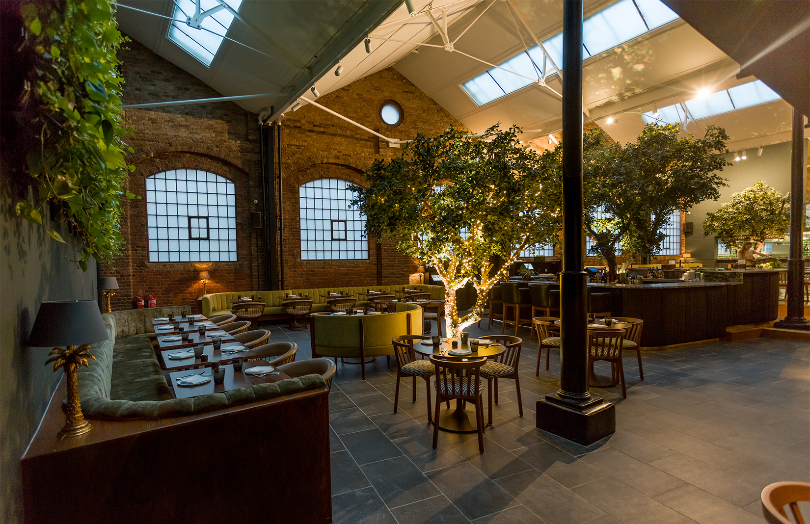Greenery filled restaurant ours opens in london s
