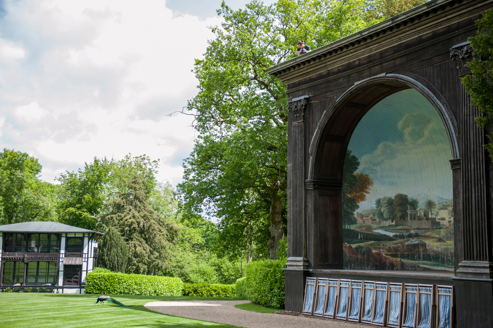 The Larmer Tree Gardens are dotted with 18th and 19th century follies