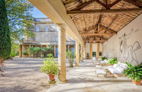 Medieval French chateau with original Picasso murals goes on sale