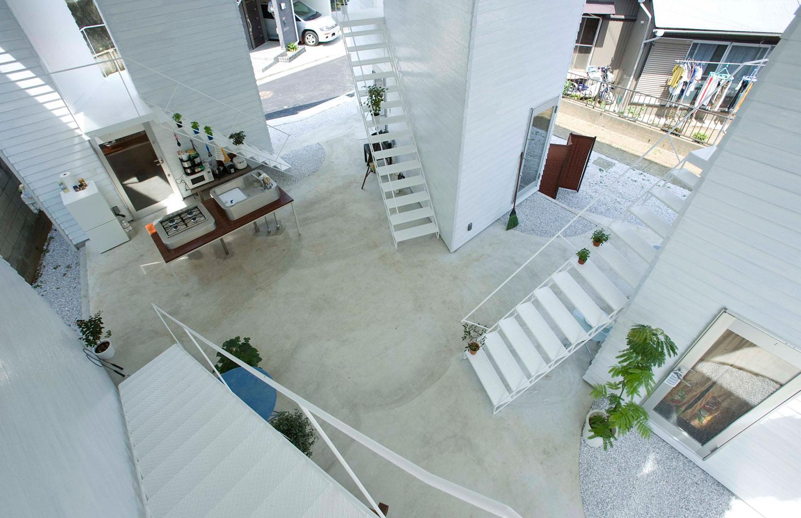 ON Design Partner's Yukohoma apartments