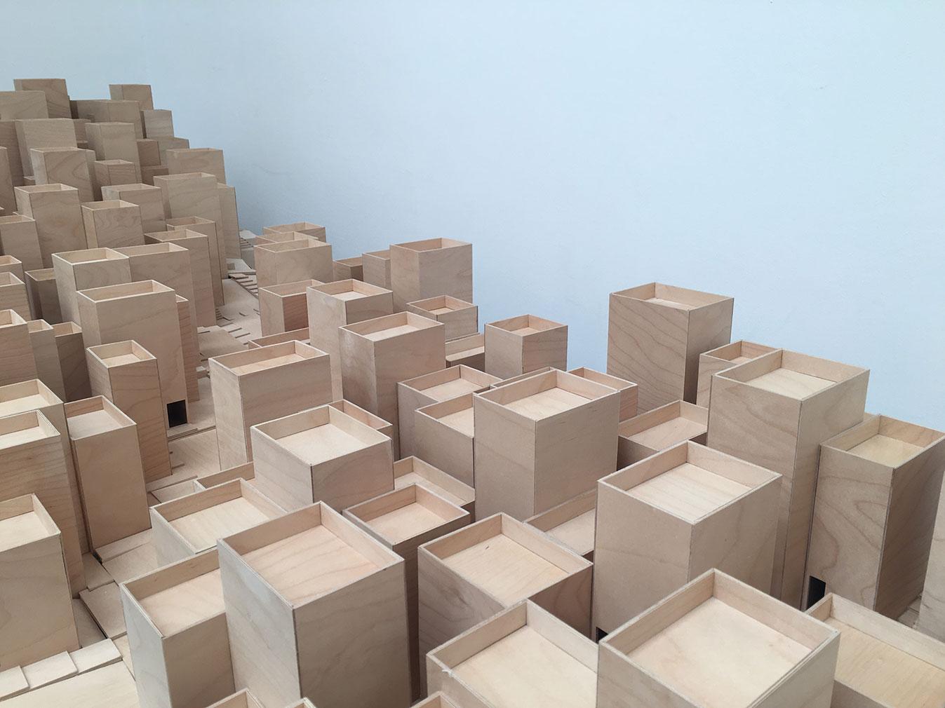 Christian Kerez's installation at the Giardini's Central Pavilion