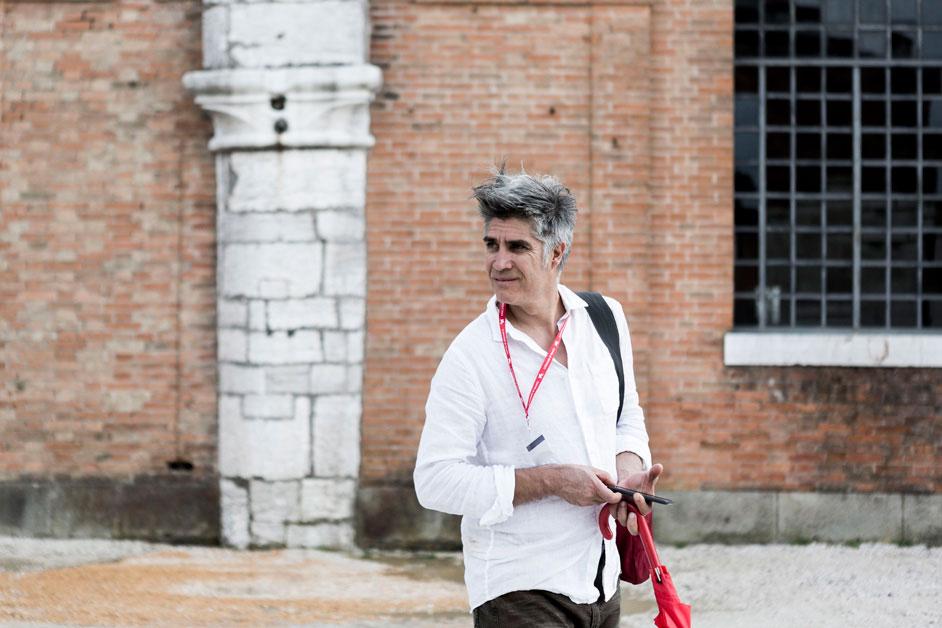 Venice Architecture Biennale curator Alejandro Aravena