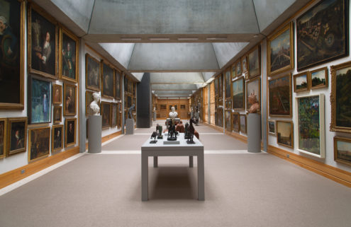 Louis Kahn's Yale Center for British Art reopens after facelift