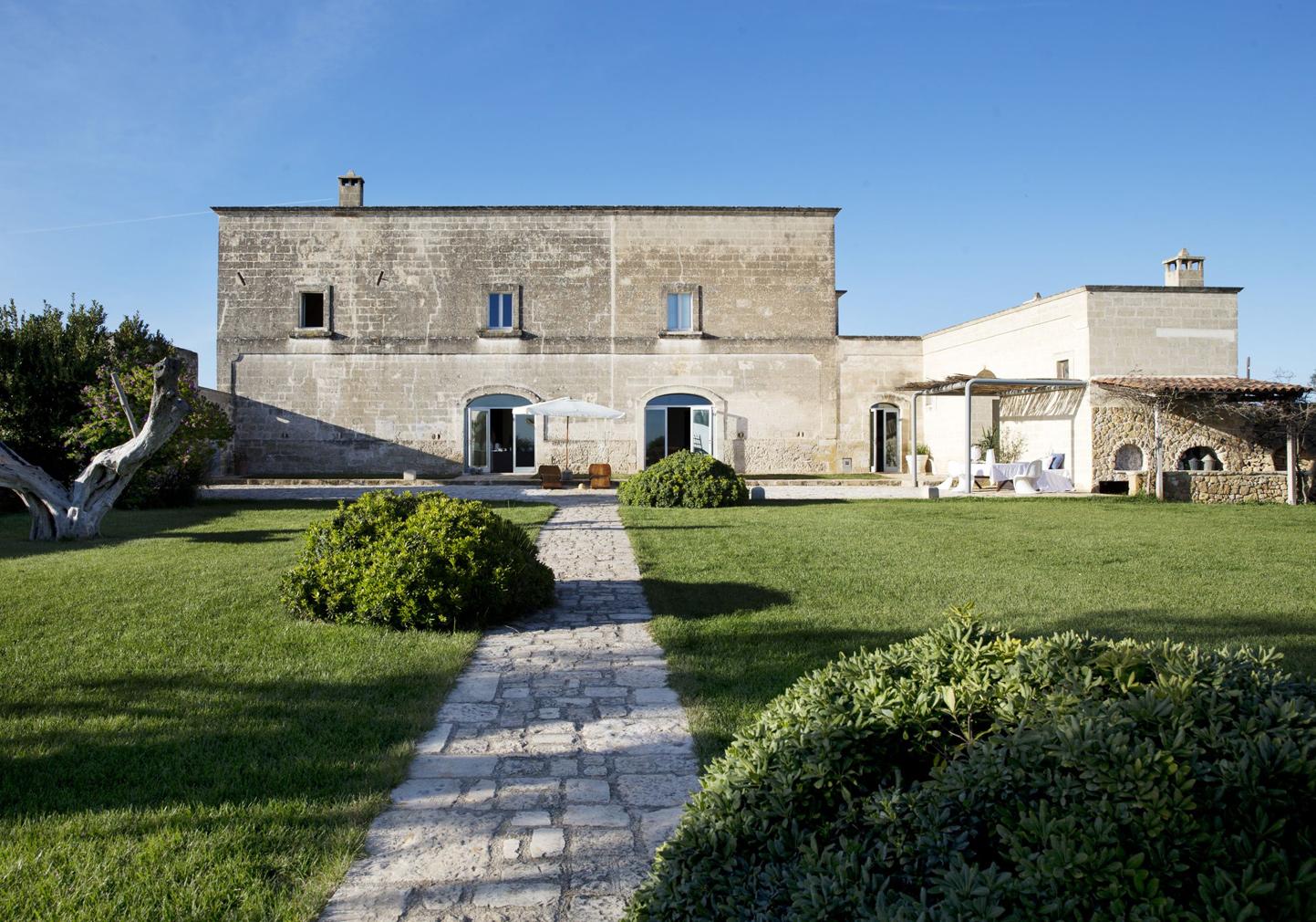 Exterior of Masseria Angiulli Piccolo