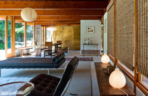 Rent architect Ned Pratt's 1951 Modernist home in Vancouver