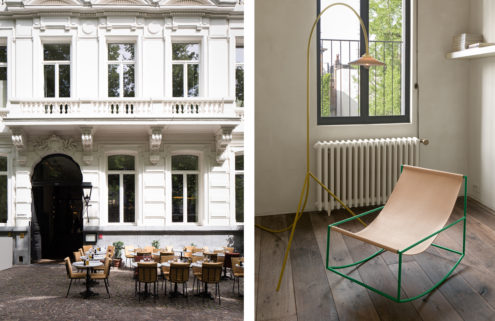 Design duo Muller Van Severen take over 'The Apartment' at Antwerp's Graanmarkt 13