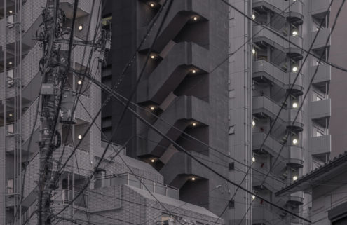 Jan Vranovský shoots a game of architectural checkers in Japan