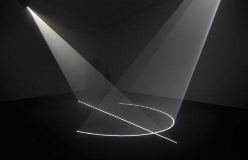 Anthony McCall sets Barcelona's Fundació Gaspar aglow