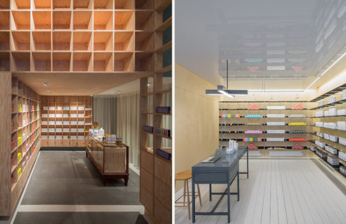 Malin + Goetz opens two apothecaries in London designed by Jonathan Tuckey