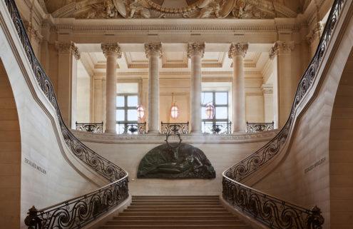 Designer Mathieu Lehanneur refreshes the Louvre's Café Mollien