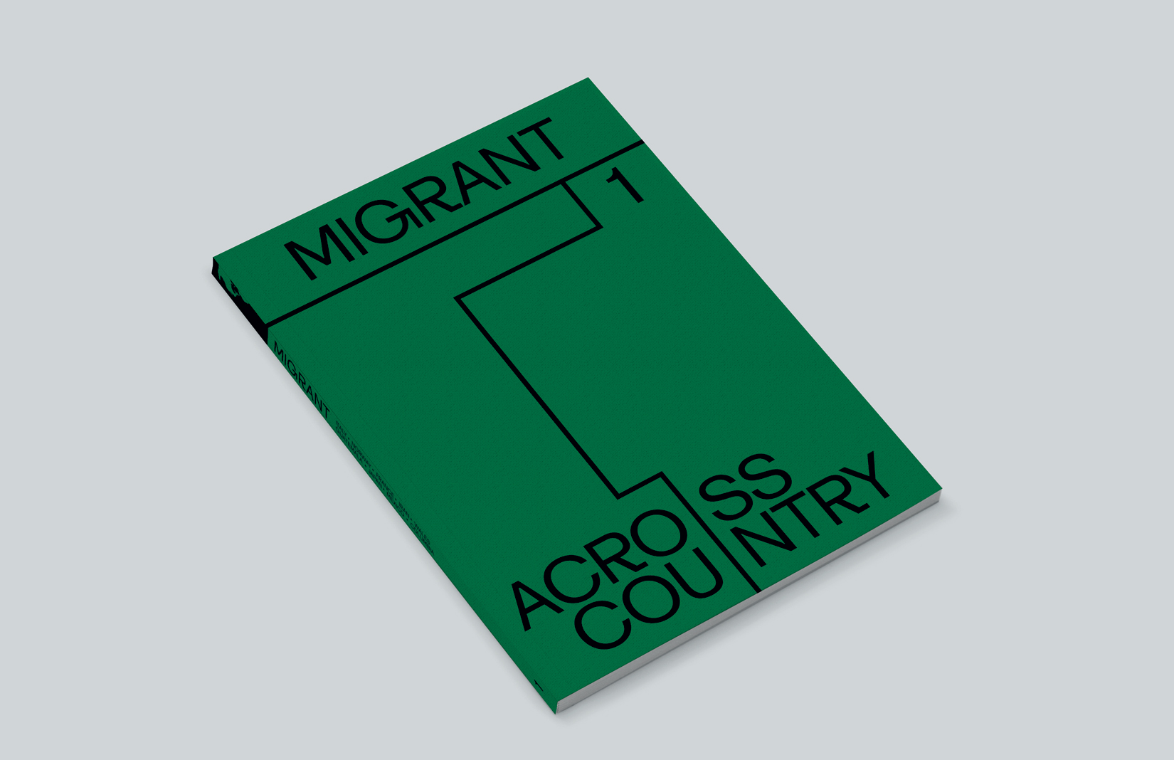 Migrant Journal mock-up