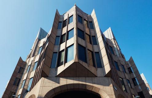 Postmodern London landmarks