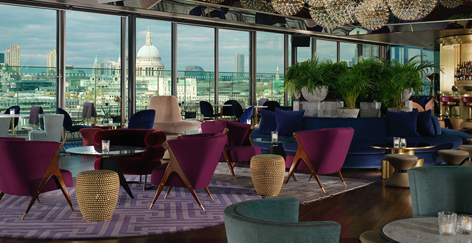 Rooftop bars in London: Rumpus Room