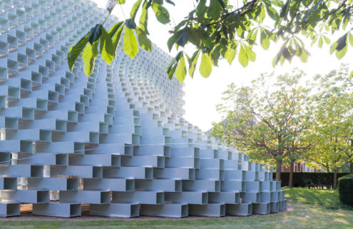 BIG's Serpentine Pavilion is 'unzipped' in London