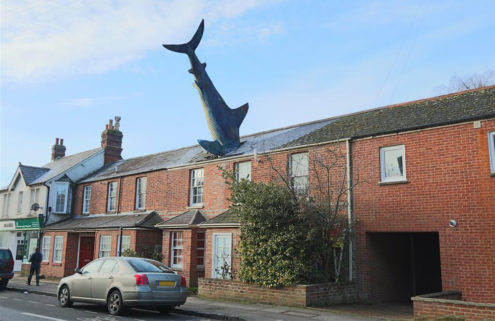 The Shark House in Oxford is available to rent