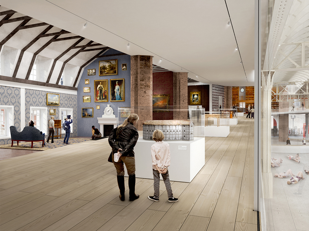 Museum of London proposal for Smithfield market