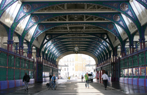 See what the new Museum of London at Smithfield market might look like