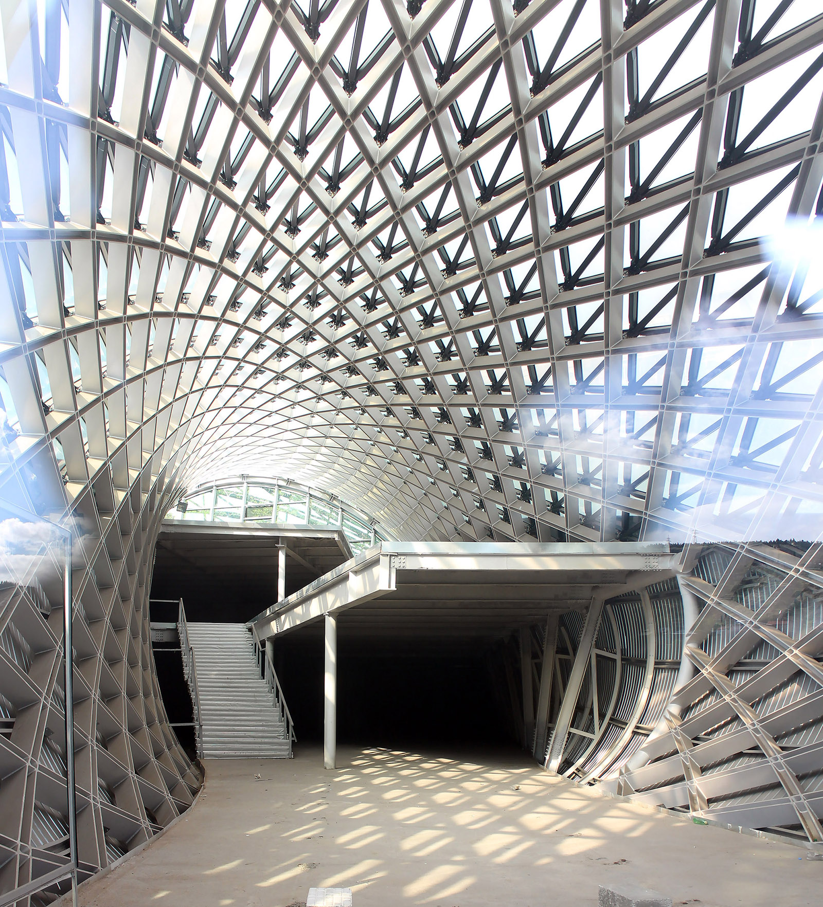 Studio Fuksas' music theatre and exhibition hall in Tbilisi
