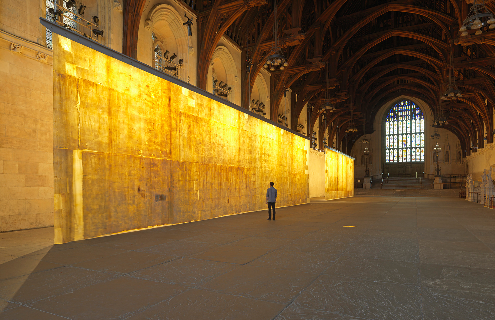 Westminster\'s \'dirt\' becomes art in Jorge Otero-Pailos\' new installation