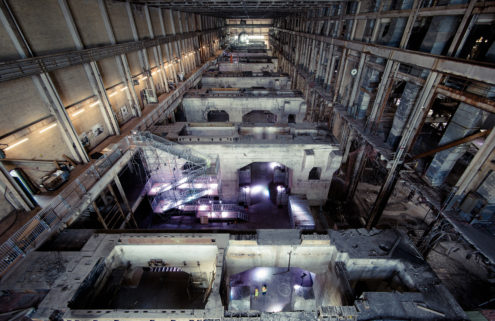 Toronto's decommissioned Hearn power plant becomes world's largest pop-up arts centre