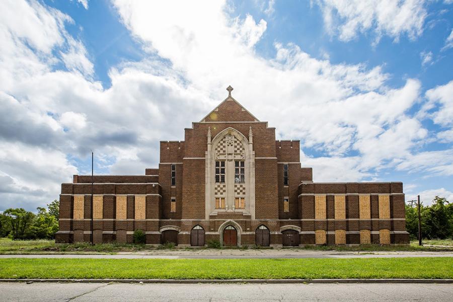 War Games at Woods Cathedral, JTG Detroit Project
