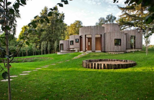 Rental of the week: a house of cylinders in Denmark