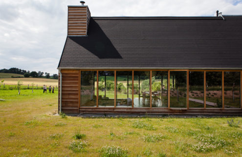 Rental of the week: Black House in Germany